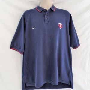 Nike Minnesota Twins Polo